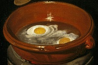 An Old Woman Cooking Eggs(Part).jpg