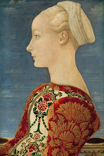 Antonio del Pollaiuolo - Profile Portrait of a Young Lady.jpg