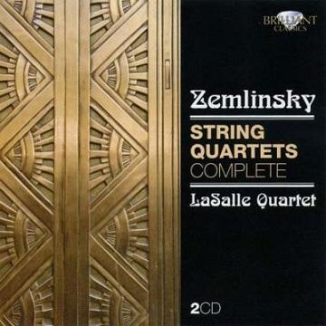 ツェムリンスキー:弦楽4重奏曲全集 - LaSalle(Brilliant Classics 2010).jpg