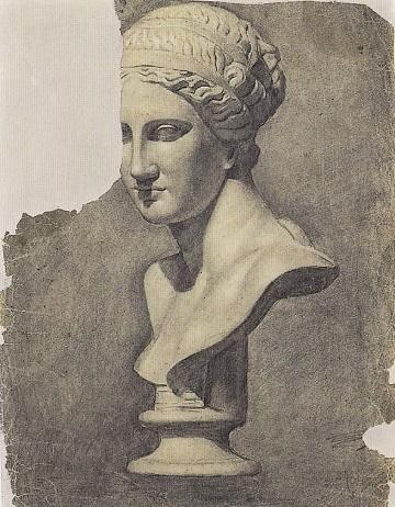 ピカソ:女性の石膏像.jpg