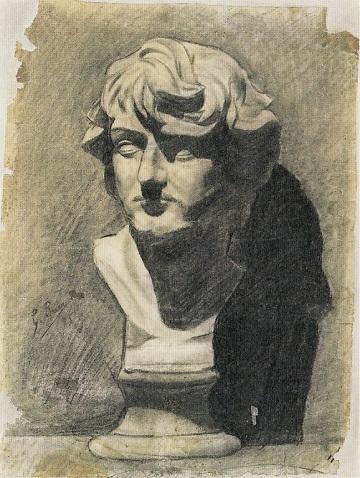 ピカソ:男性の石膏像.jpg