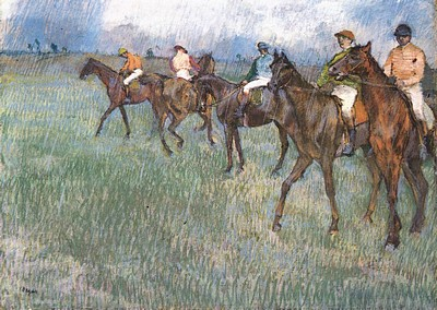 Jockeys in the Rain.jpg