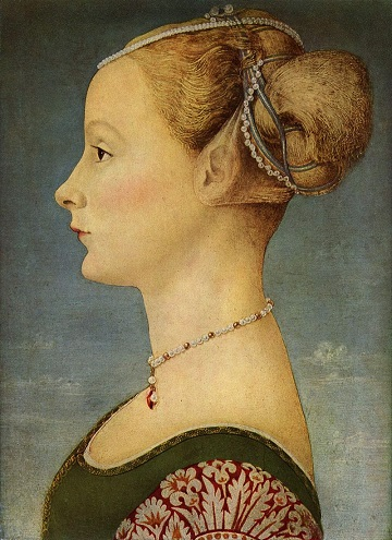 Piero del Pollaiuolo - Profile Portrait of Young Woman.jpg