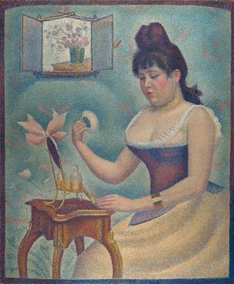 11 Young Woman powdering Herself.jpg