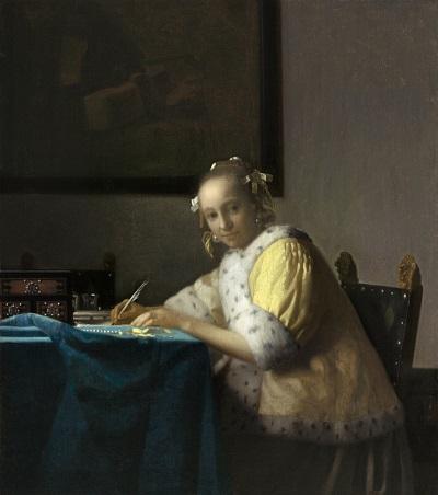 A Lady Writing.jpg