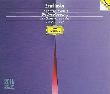 ツェムリンスキー:弦楽4重奏曲全集 - LaSalle(CD - DG 1989).jpg
