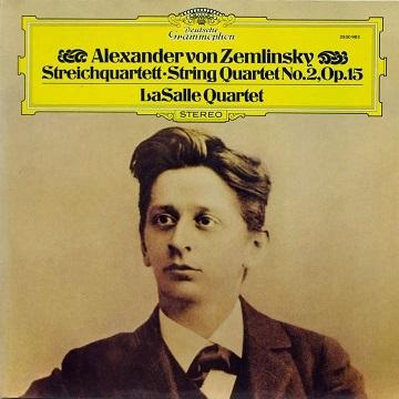 ツェムリンスキー:弦楽4重奏曲第2番 - LaSalle(LP - DG 1978).jpg
