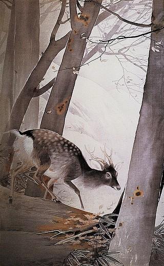 冬嶺孤鹿.jpg