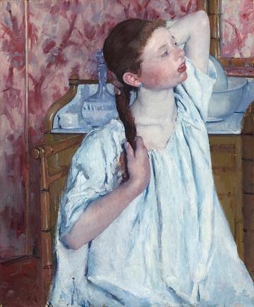 Girl Arranging Her Hair.jpg