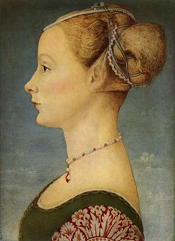 Piero del Pollaiuolo - Profile Portrait of Young Woman.jpg