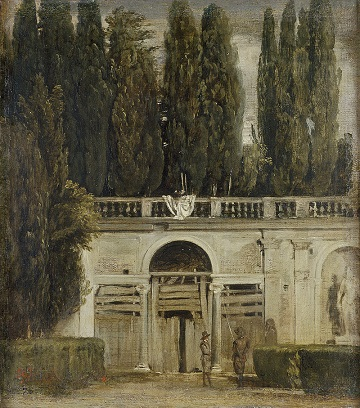 View of the Garden of the Villa Medici.jpg